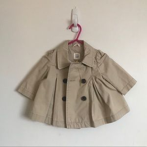 GAP Baby Trench Jacket - Size (0-6)